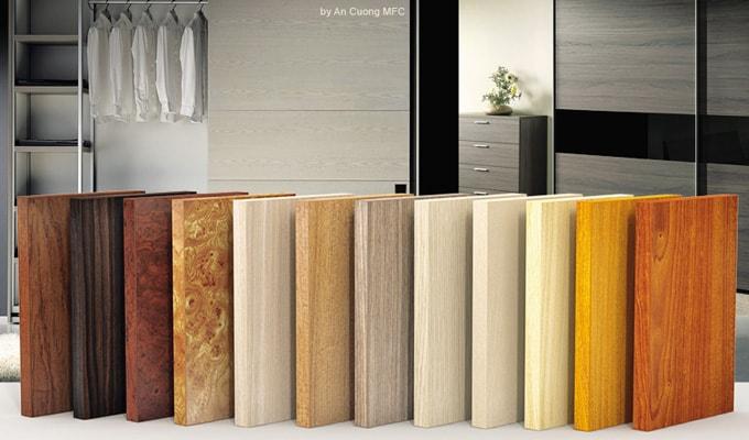 So sánh gỗ Veneer và MFC (Melamine)