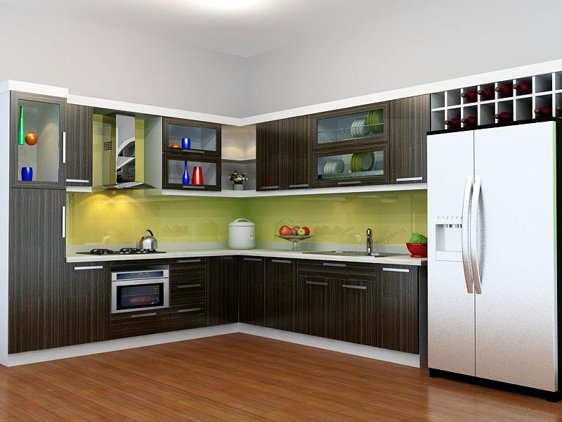 Nên chọn tủ bếp chất liệu Laminate hay Acrylic?