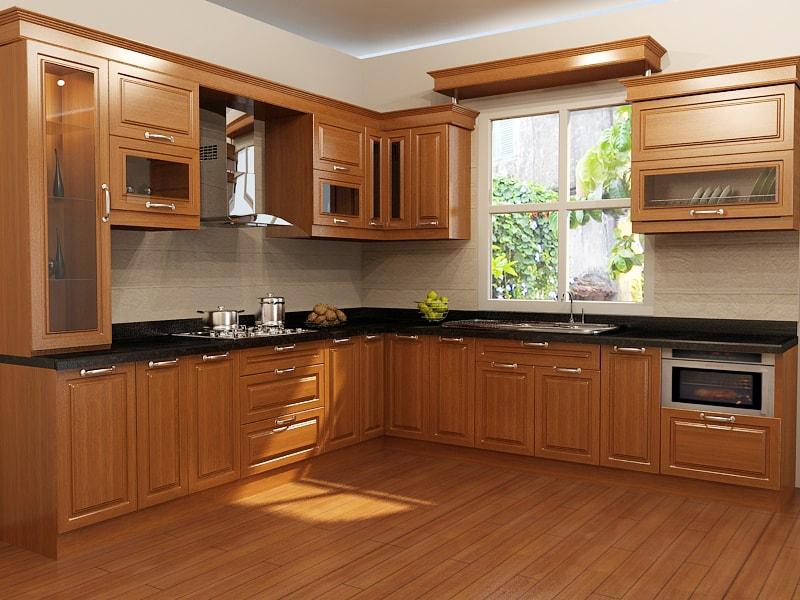 Chọn gỗ cho bàn ăn, tủ bếp