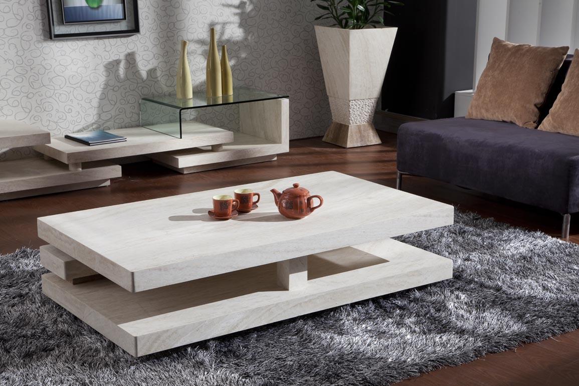 Cách lựa chọn và bố trí bàn trà gỗ trong phòng khách